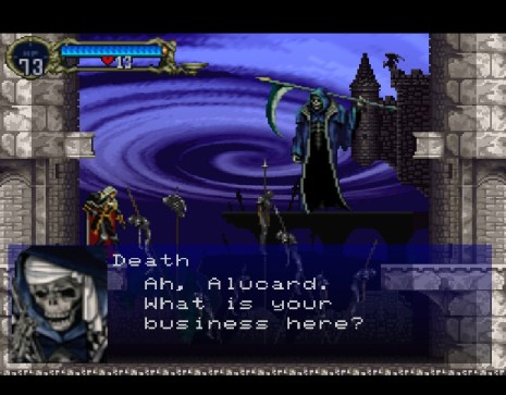 Castlevania Symphony of the Night Death
