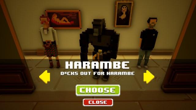 Intensive Exposure Harambe