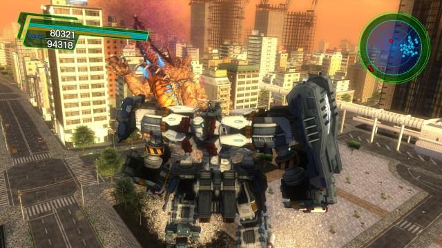 Earth Defense Force 4.1 Godzilla