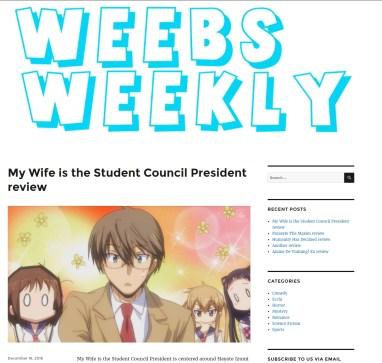 Weebs Weekly