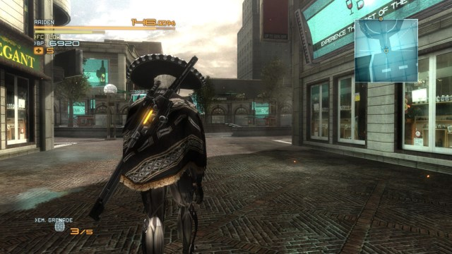 Metal Gear Rising Revengeance Mexican
