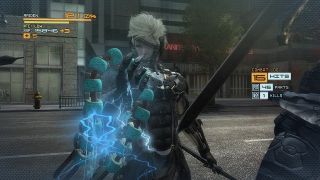 Metal Gear Rising Revengeance Power Core