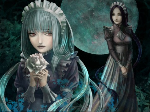The House in Fata Morgana White Haired Girl