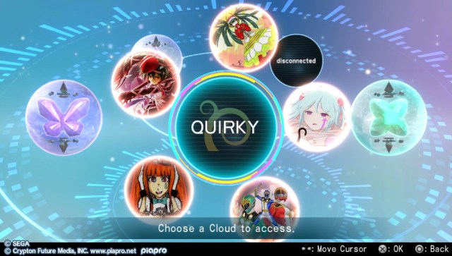 Hatsune Miku Project Diva X Clouds