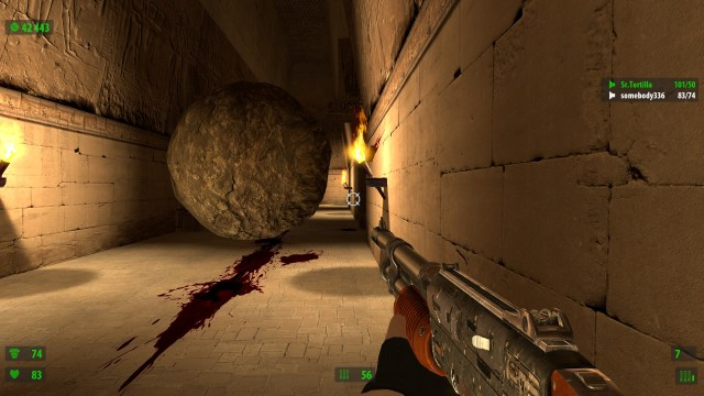 Serious Sam HD The First Encounter Boulder