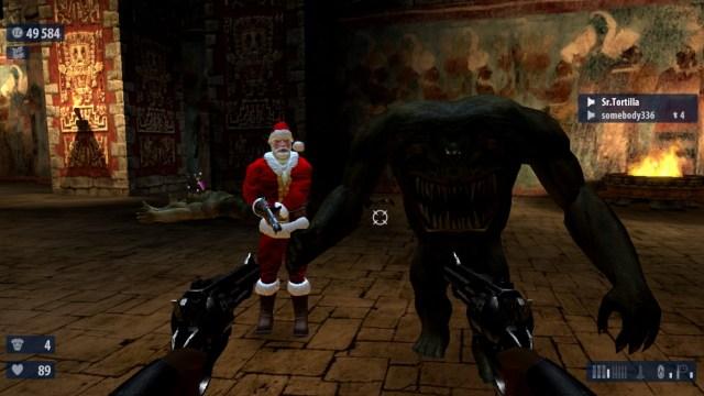 Serious Sam HD The Second Encounter Santa