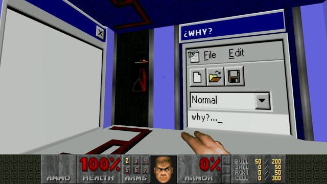 My Soul Trapped in a Win 98 PC Intro