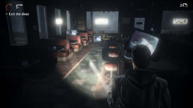 Alan Wake The Signal Diner