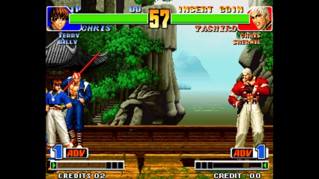 King of Fighters Ultimate Match Final Edition Chris