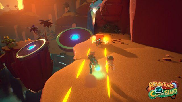 Skylar & Plux Adventure on Clover Island Enemy