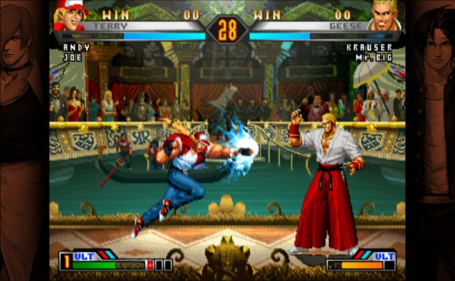 The King of Fighters 98 Ultimate Match Final Edition Terry