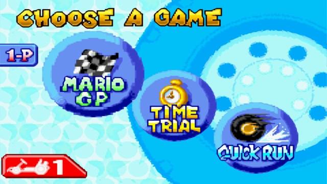 Mario Kart Super Circuit Modes