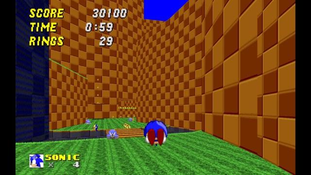 Sonic Robo Blast 2 Dash Attack
