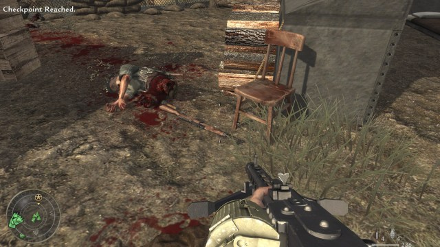 Call of Duty World at War Gore