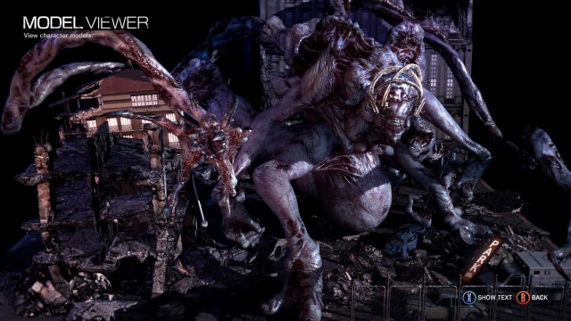 The Evil Within Model Viewer
