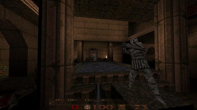 Quake Dissolution of Eternity Statue