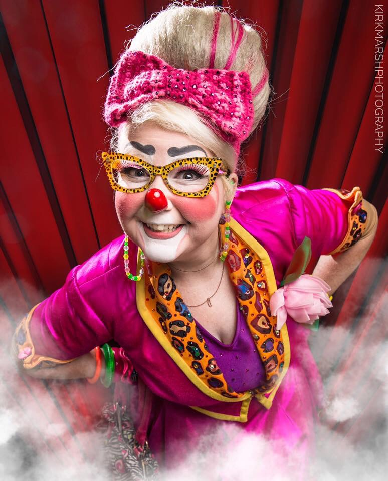 Ringling Brothers Female Clowns