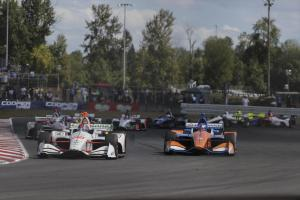 Colton Herta Leads in Portland
