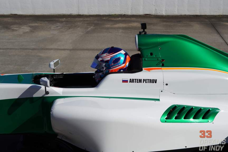 Artem Petrov - Winter Testing 2019 - Juncos Racing