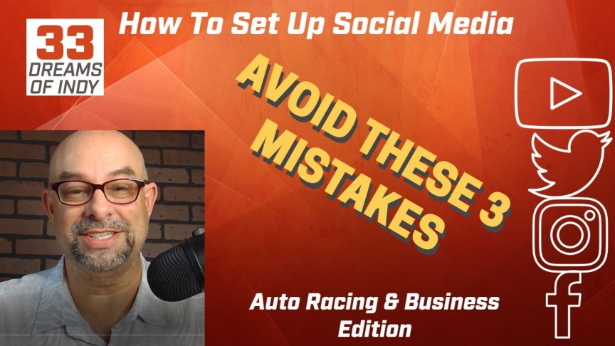 Auto Racing - How to Set up Social Media Accounts