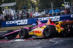 Jack Harvey - Ryan Hunter-Reay - Portland 2019