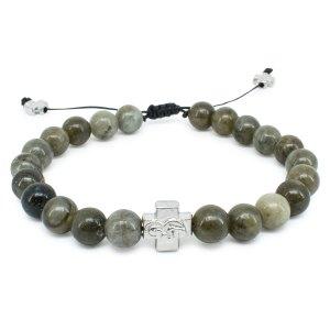 Labradorite Stone Orthodox Bracelet-0