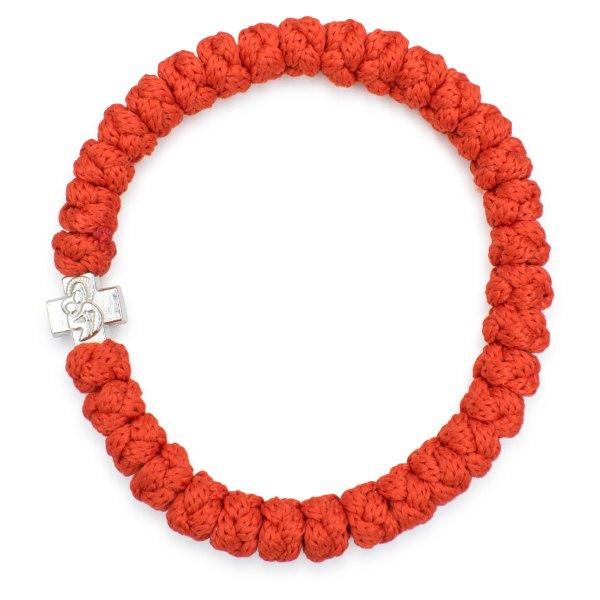 Red prayer bracelet