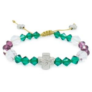 """Swarovski Crystal Orthodox Bracelet """"Anna""""-0"""