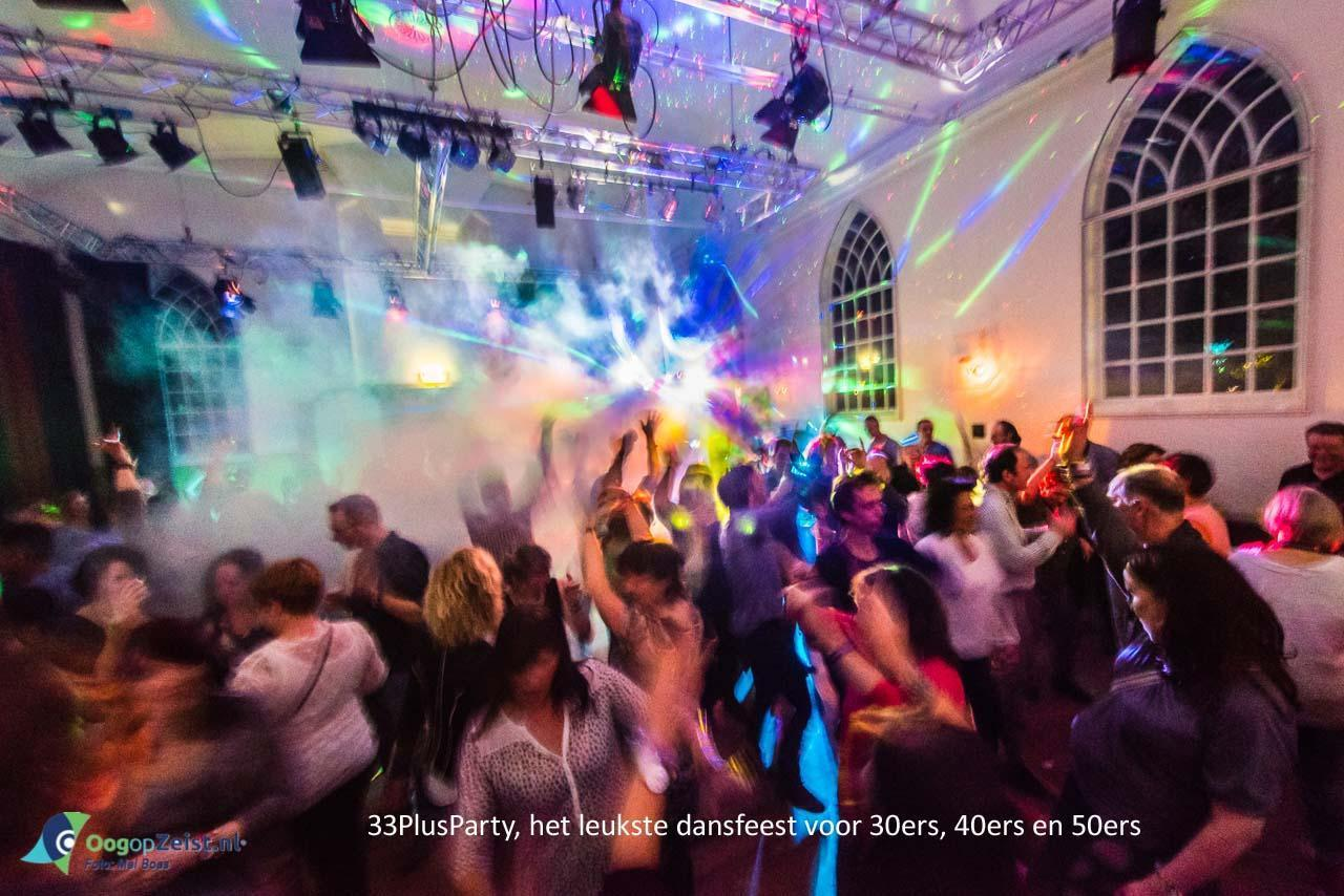 33 plus party in het Beauforthuis met Disco Baltazar