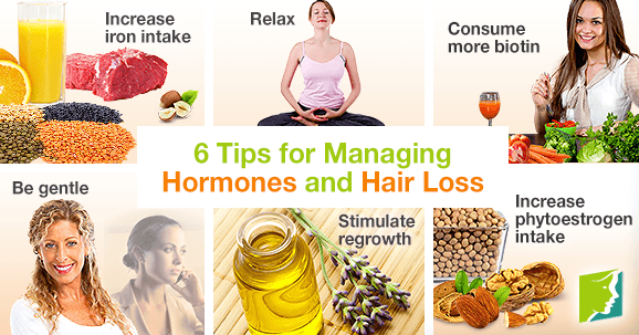 6 Tips For Managing Hormones And Hair Loss