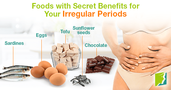 Foods With Secret Benefits For Your Irregular Periods
