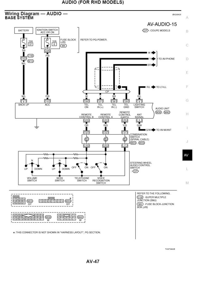 2004 nissan maxima stereo wiring diagram wiring diagram radio wiring diagram for 2003 mitsubishi eclipse diagrams