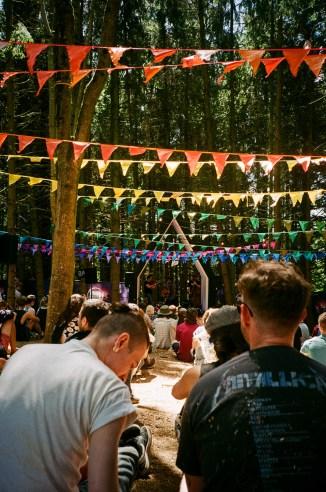 Woodland stage
