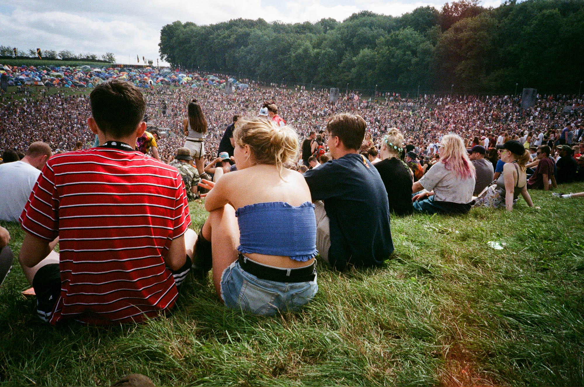 Crowds at Boomtown