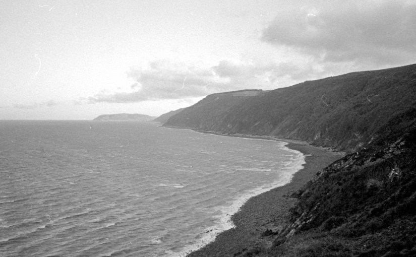 Kodak Tri-X 400 by the sea