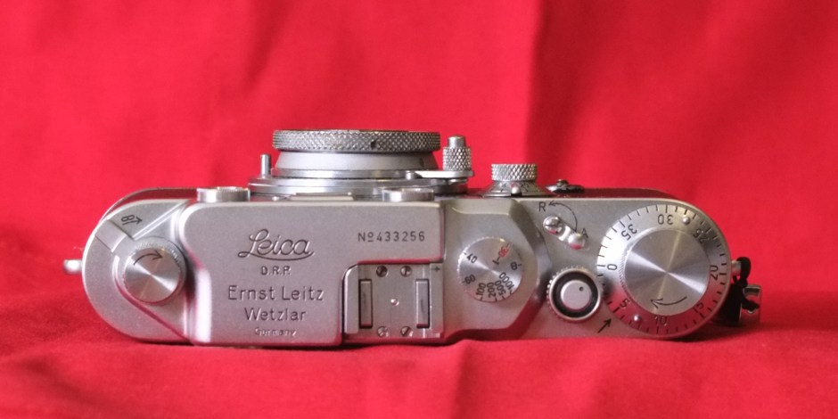 The Leica IIIc top plate: Not fancy, but functional
