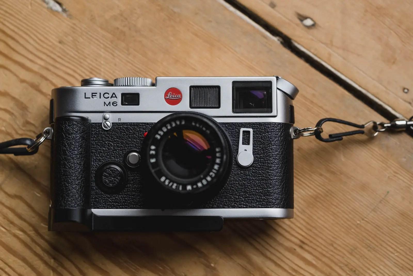 The Leica M6 Classic & Leica M6 TTL - 35mmc