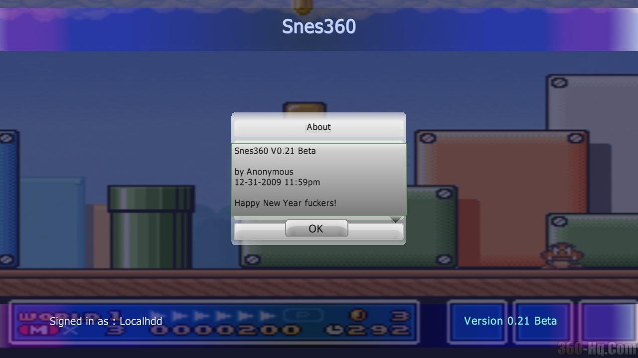 Snes360 032 Beta Released