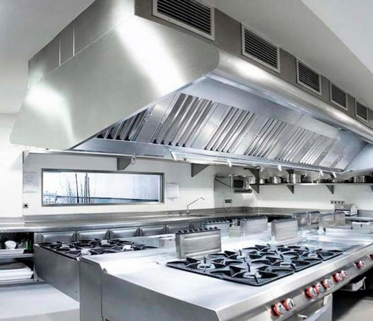 Commercial Kitchen Cleaning Services Hood Exhaust