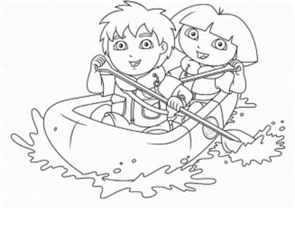 Diego Coloring Pages 360ColoringPages