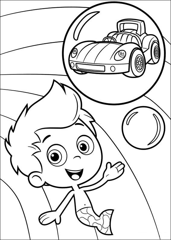 Bubble Guppies Coloring Pages 360ColoringPages
