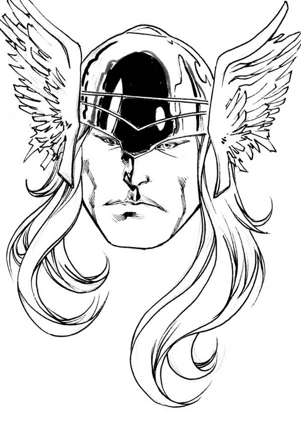 Printable Thor Coloring Pages For Kids 360ColoringPages