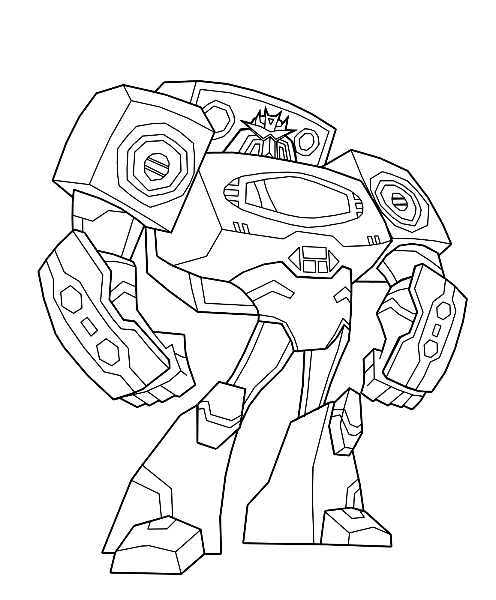 Hasbro Transformers Coloring Pages
