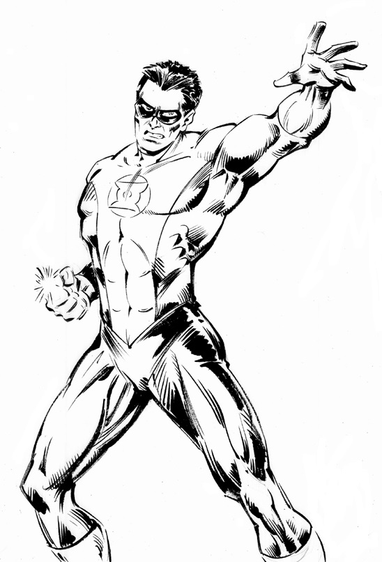 green lantern coloring pages  3coloringpages