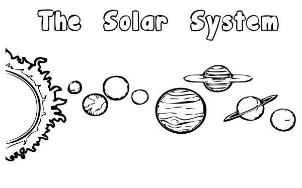 Solar System Coloring Pages | 360ColoringPages