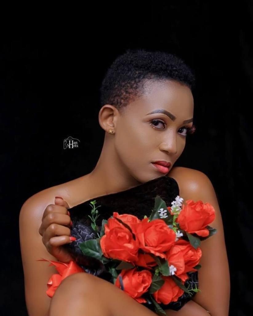 Doreen Kabareebe pokes Frank Gashumba