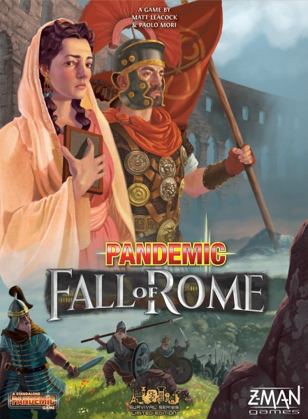 Top Of The Table – Pandemic: Fall of Rome 2
