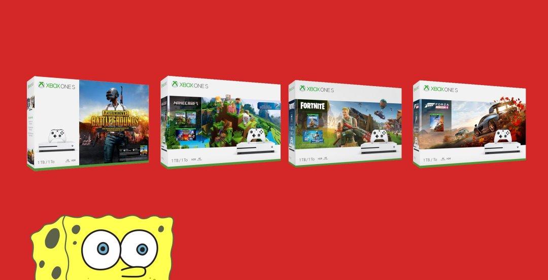 $199 Xbox One S bundles return for Christmas at Walmart 1