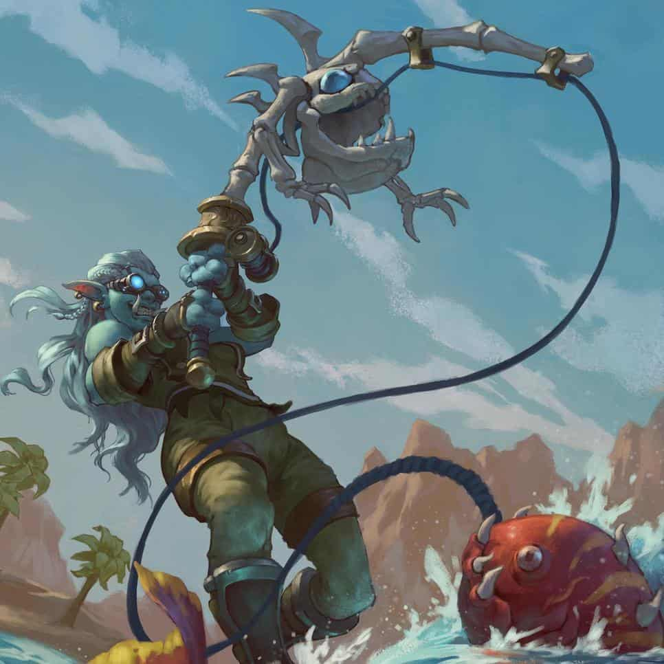 Love this epic commission by ProfessorNox - that's one eager fisher  . . . . . ....
