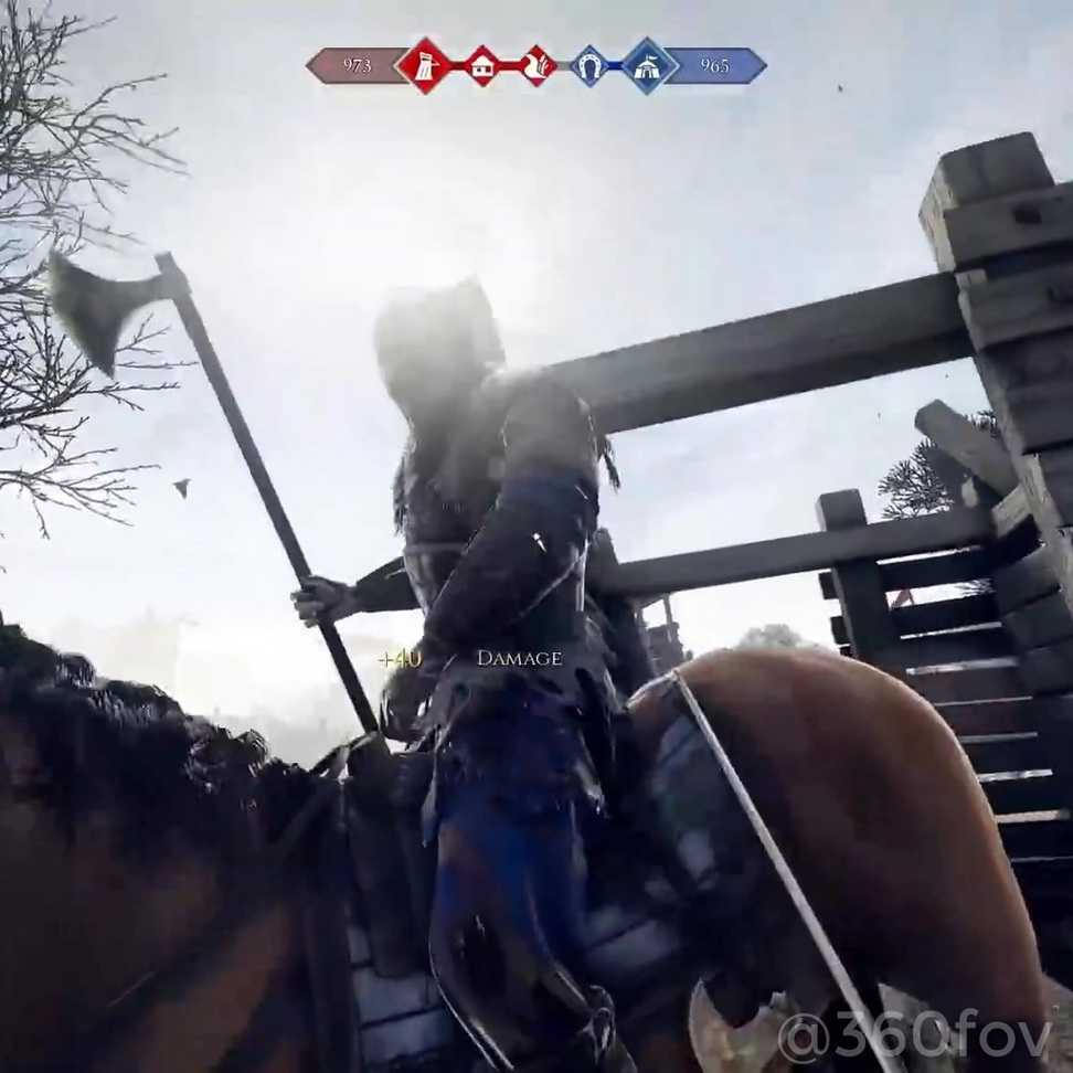 - *WARNING* BLOOD, GUTS & YELLING MEN - A minute of absolute chaos from Mordhau... 2